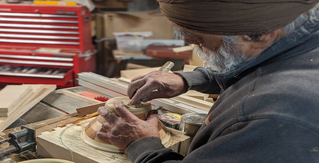 "Vancouver senior making wooden bowls to help heal ""boo boos"" of kids"