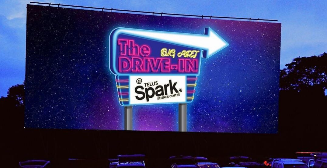 Drive-in movie theatre pop-up returning to Calgary this summer