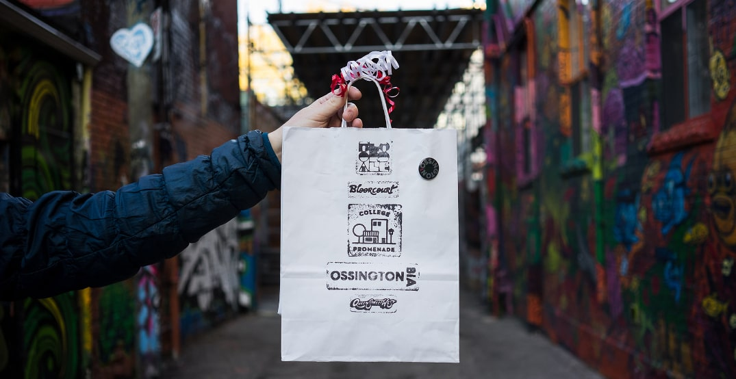 This company sells curated bags of Toronto goodies to support small businesses