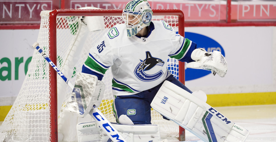 Demko injured less than 24 hours after Canucks send DiPietro to Utica