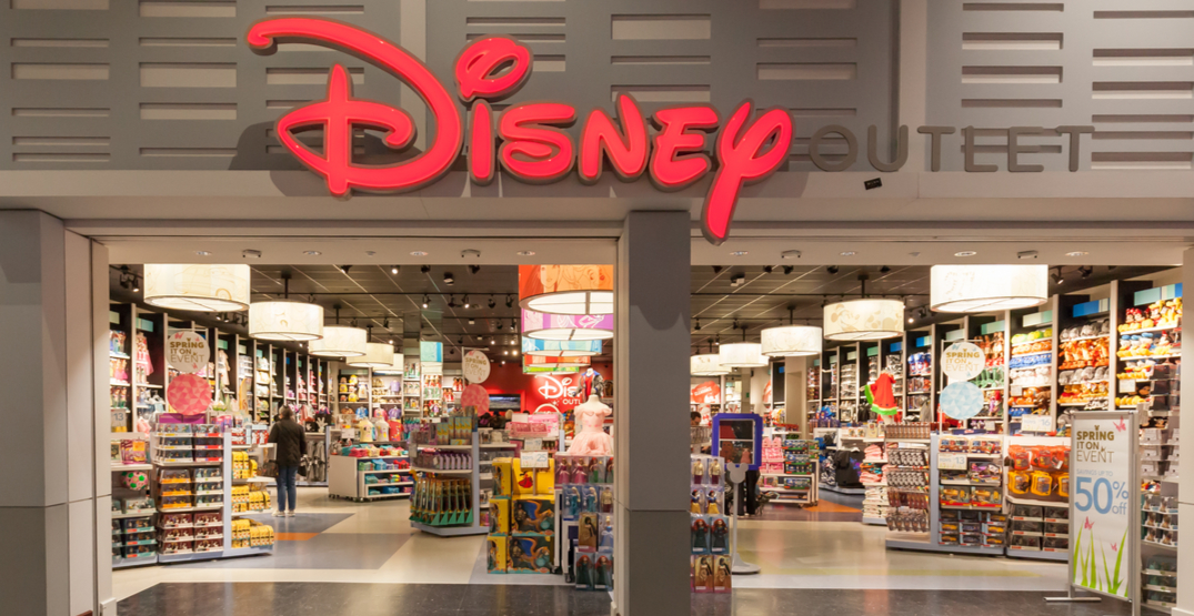 Disney closing majority of its stores in Canada next month