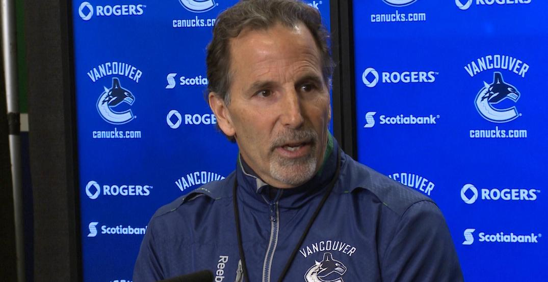 Tortorella once got mad at a Canucks player for pooping