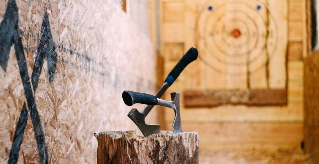 Drink beer and throw axes at Seattle's Blade and Timber