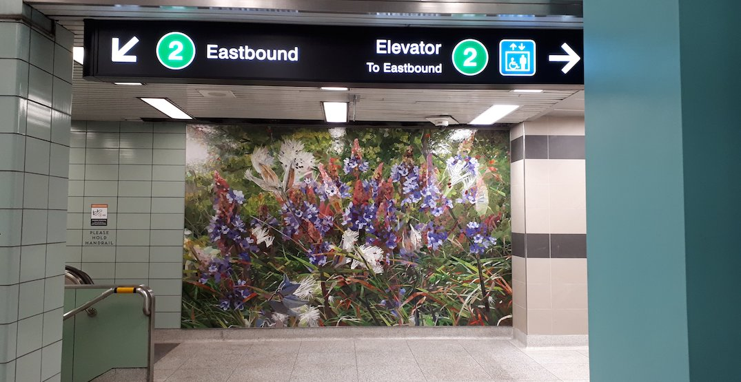Toronto subway station gets a makeover with beautiful new public art piece