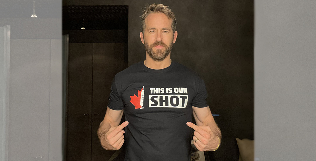 """Ryan Reynolds shares photo participating in """"This Is Our Shot"""" challenge"""