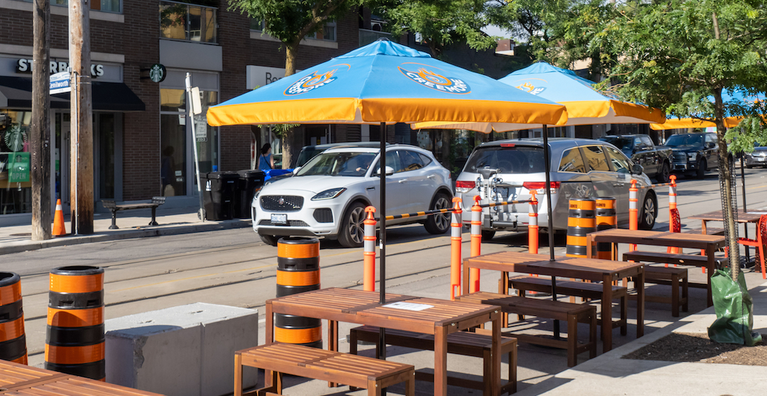 Toronto moving ahead with building curbside patios amid Stay-at-Home order