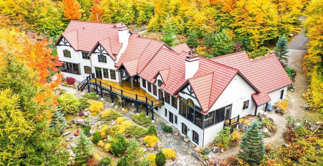 A look inside: Elegant $6.9M Mont-Tremblant estate (PHOTOS)