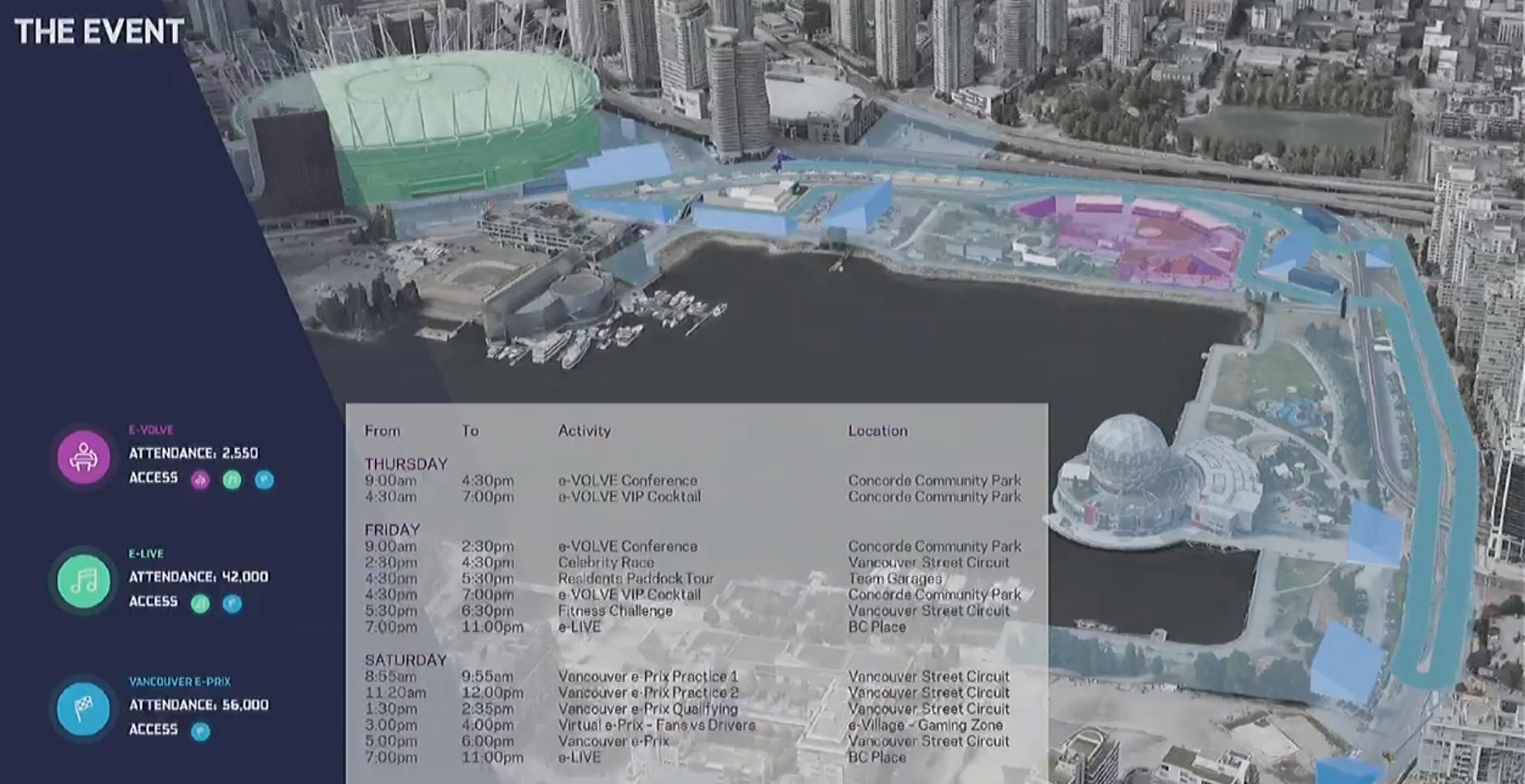 formula e vancouver 2022 race circuit