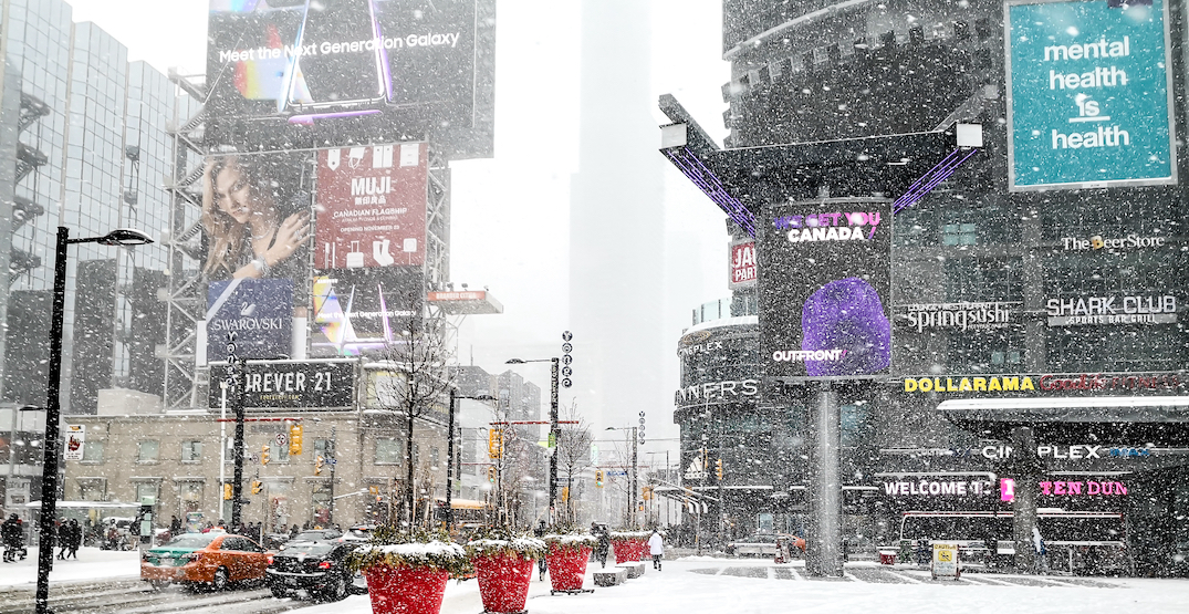 SNO-WAY: There's snow in the forecast for Toronto