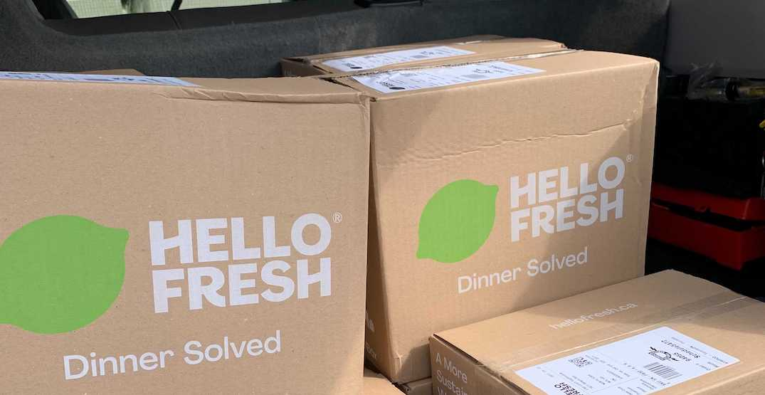 Toronto partners with meal kit service to help feed recently-housed families