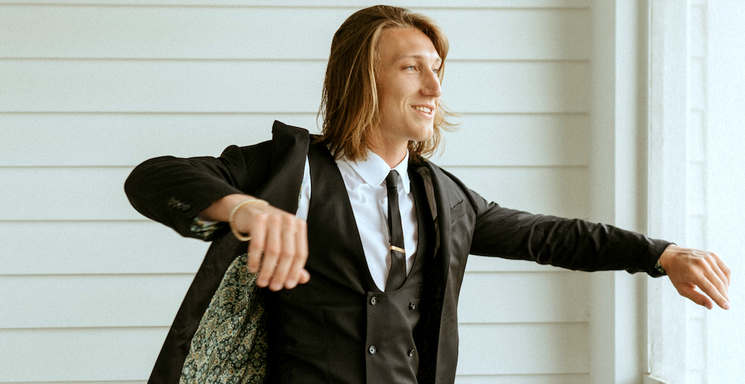Top pick Trevor Lawrence to rock suit from Vancouver company at NFL Draft today