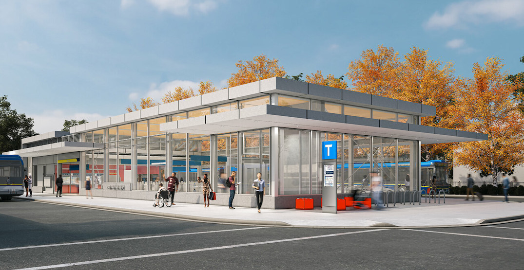 New detailed renderings of the station designs for Broadway Subway