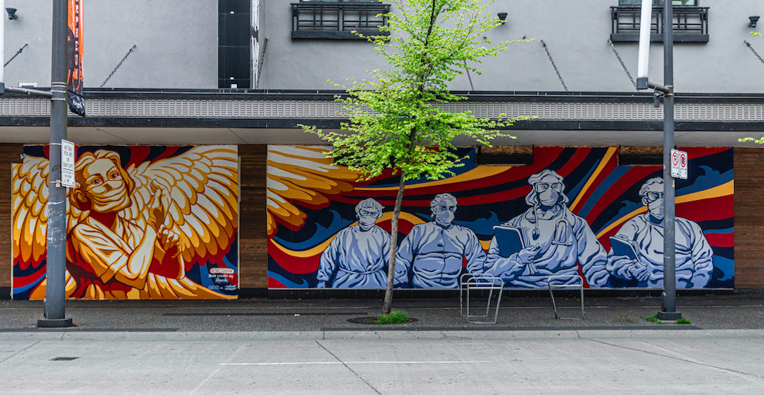 Why Vancouver could soon see more murals and public art on construction boarding