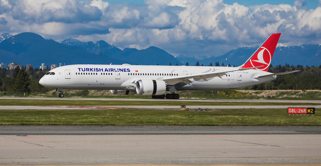Turkish Airlines launches new direct flights from Vancouver to Istanbul