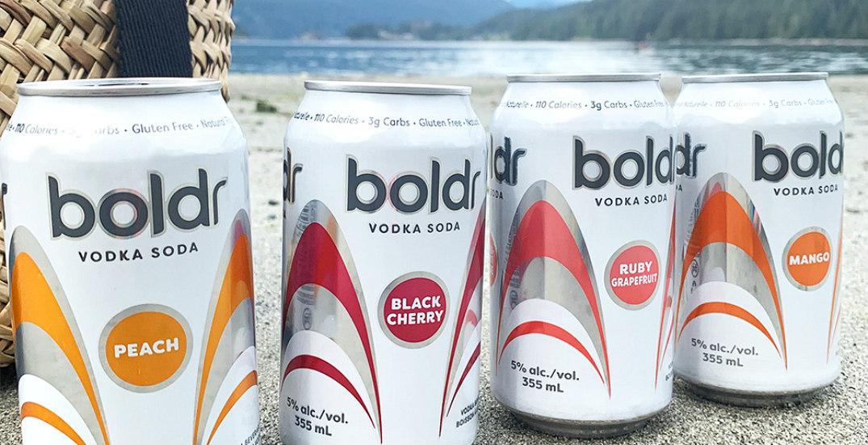 A Boldr Vodka Soda just dropped in Western Canada
