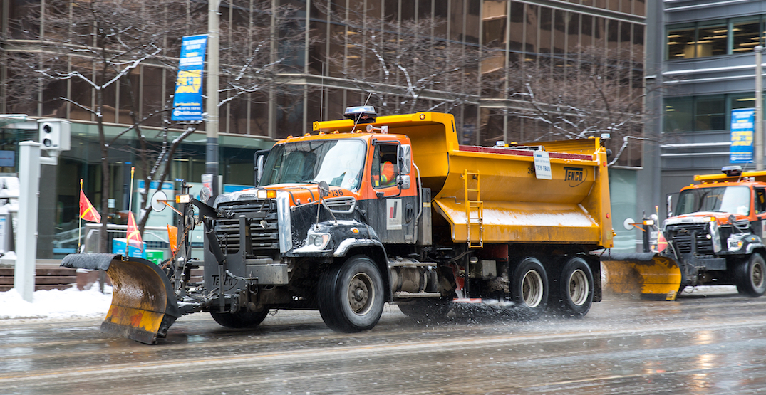 Toronto could be dumping way less salt on its streets this winter