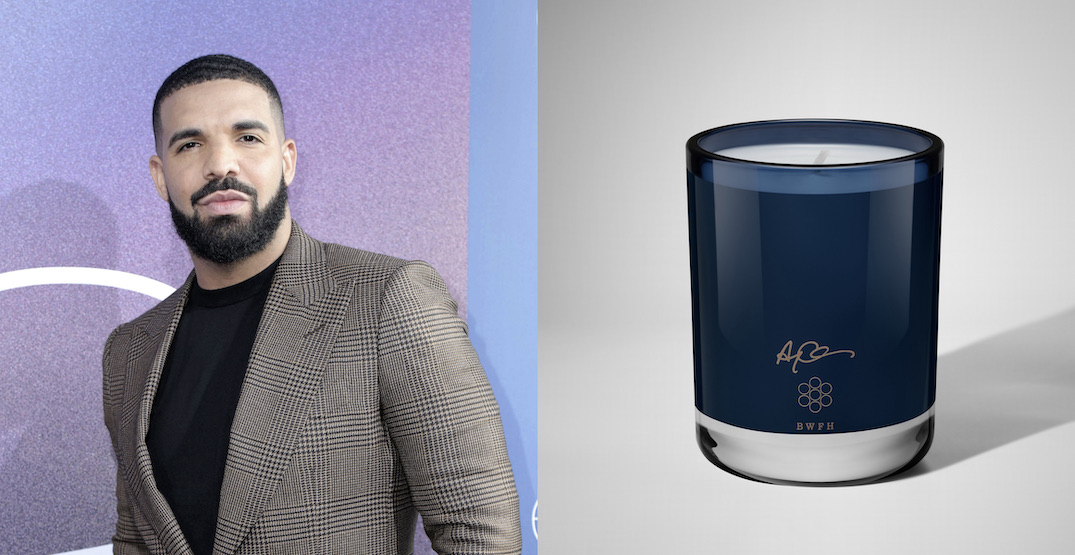 Drake is giving out FREE candles from his coveted line with Uber Eats