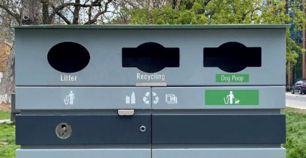 Toronto now has waste bins just for your dog's poop