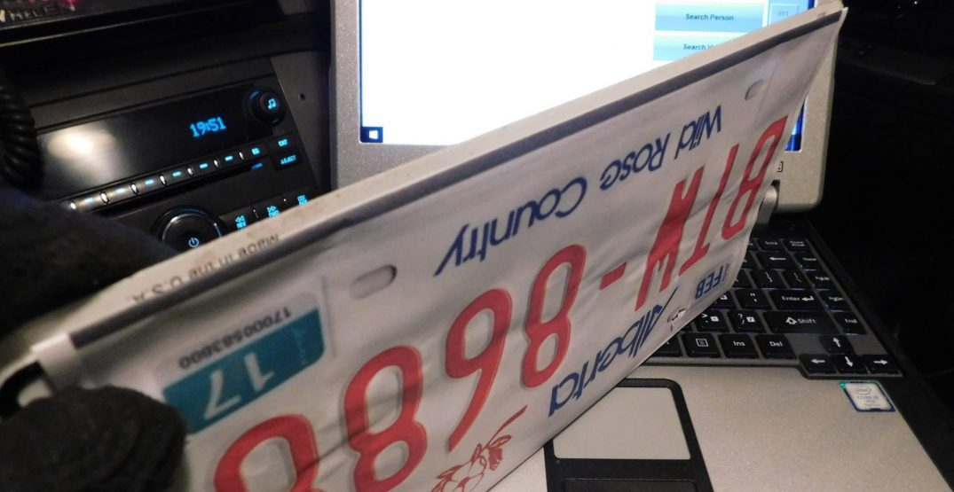 Driver using paper licence plate facing over $2,000 in fines