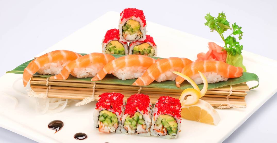 Toronto sushi restaurant offers all-you-can-eat deal delivered to your car