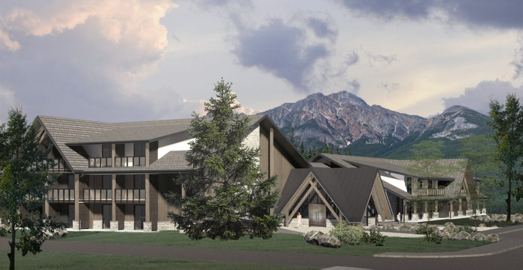 A brand new hotel is set to open in Jasper National Park next summer