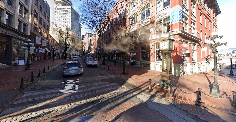 gastown steam clock water street