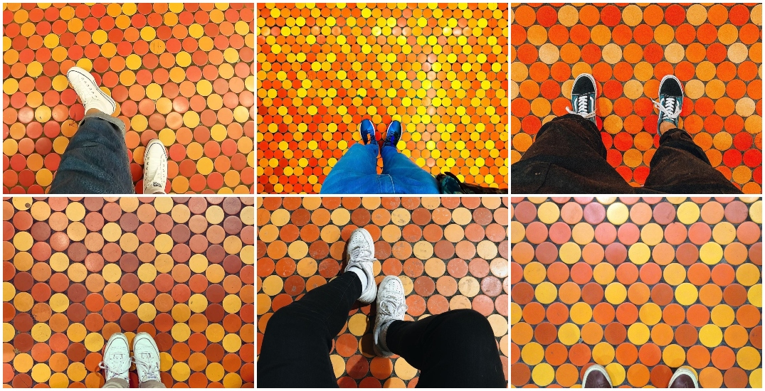 You're not a true Montrealer unless you've taken pics of your shoes at this metro station (PHOTOS)