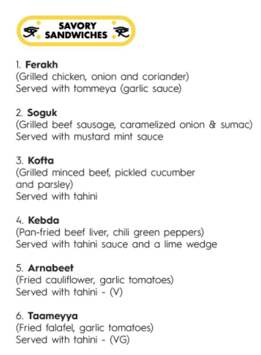 toronto egyptian food