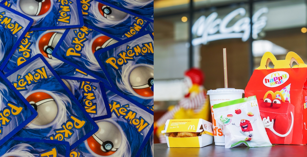 McDonald's is giving out Pokemon cards in Happy Meals across Canada