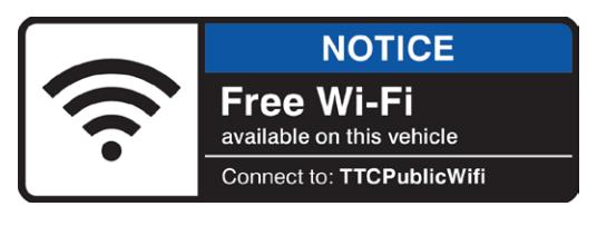 ttc free bus wifi