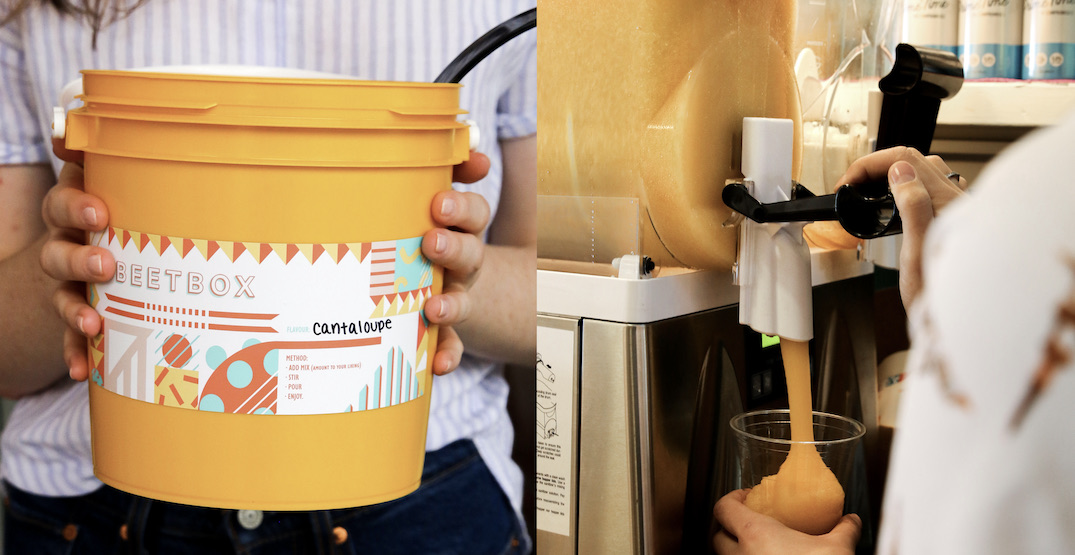 """""""Slushie Buckets"""" are a thing thanks to Vancouver's Beetbox"""