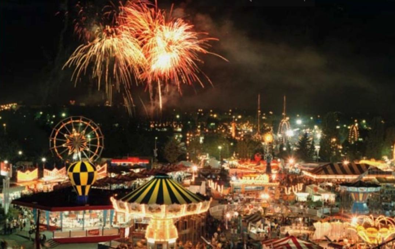 pne fair nightly fireworks 1990s