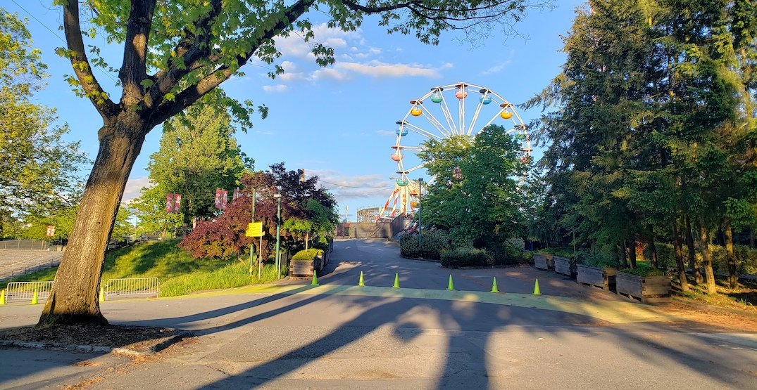 playland pne hastings park may 2020