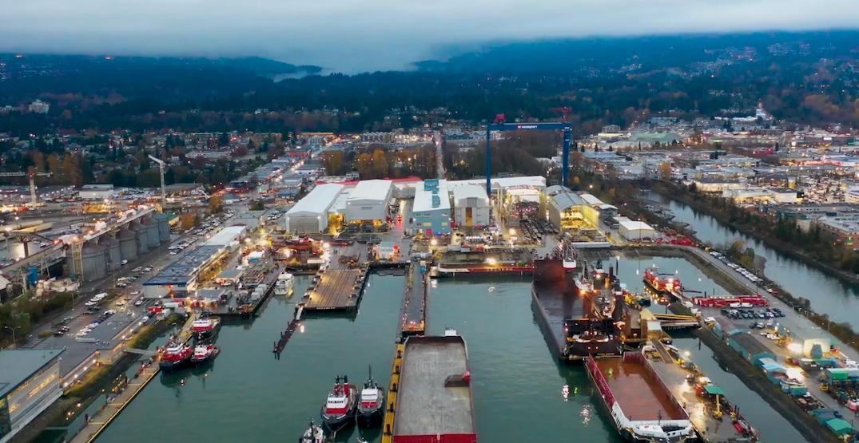 seaspan shipyards north vancouver