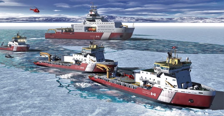 canada coast guard polar icebreakers