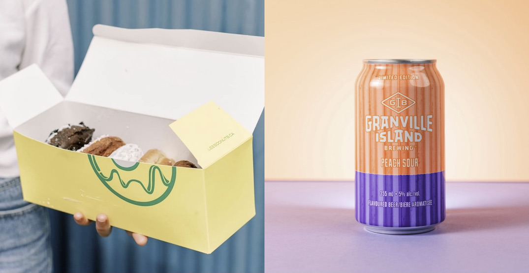 Granville Island Brewing and Lee's Donuts team up for sample shop pop-up