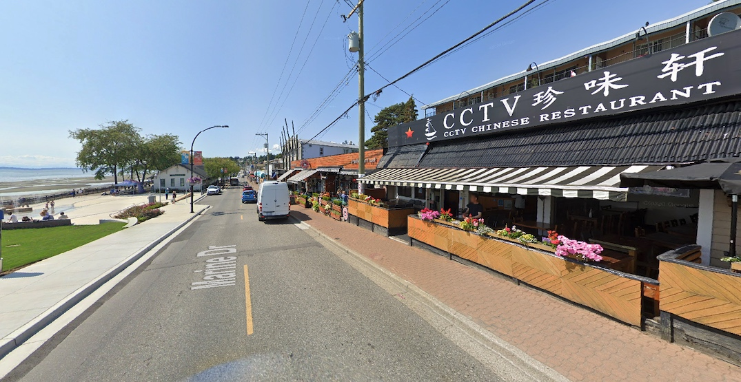 White Rock rejects idea to narrow Marine Drive into a single lane for patios