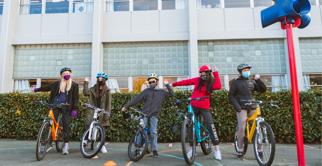 Encourage active travel at your school and register for HUB Cycling's Bike to School Week