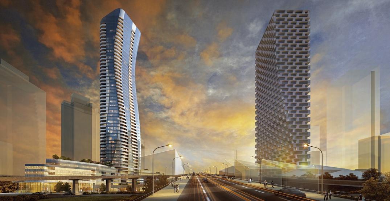 Height reduction for approved Granville Bridge landmark tower