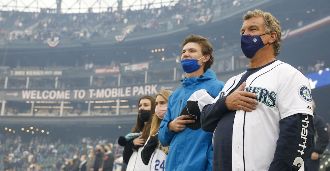 Vaccinated fans at Mariners games no longer have to physically distance