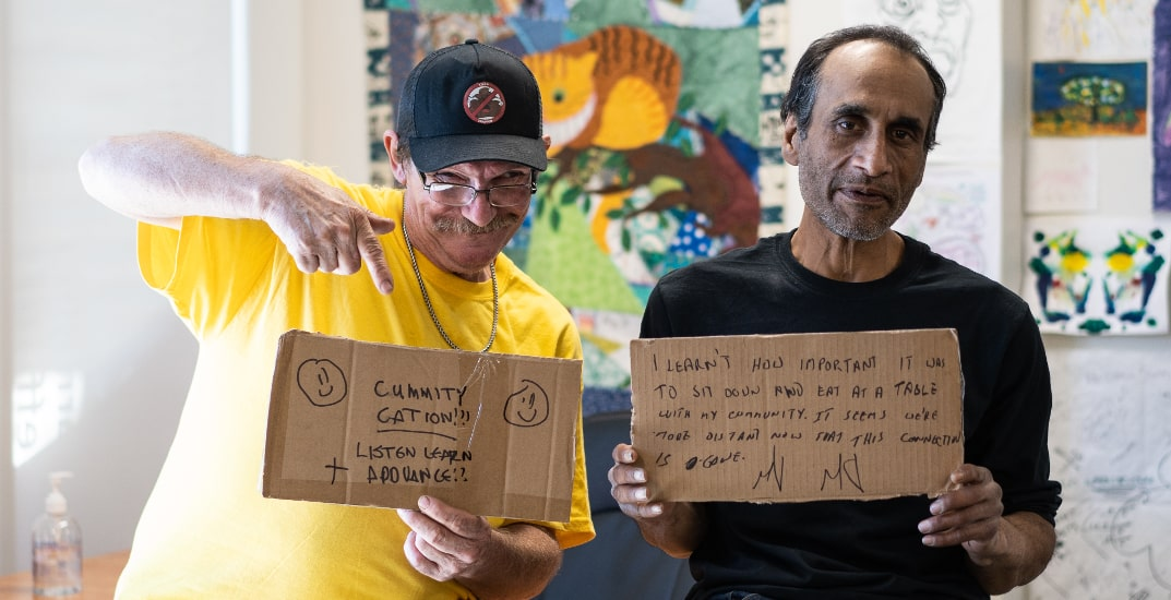 Downtown Eastside residents share experiences in virtual art event