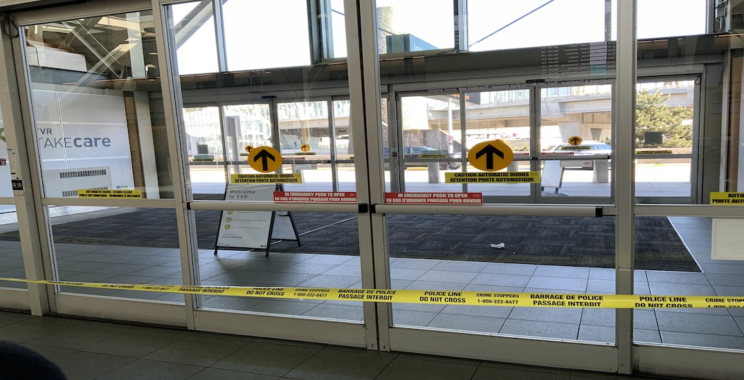 Vancouver airport responding to reports of police incident outside YVR main terminal