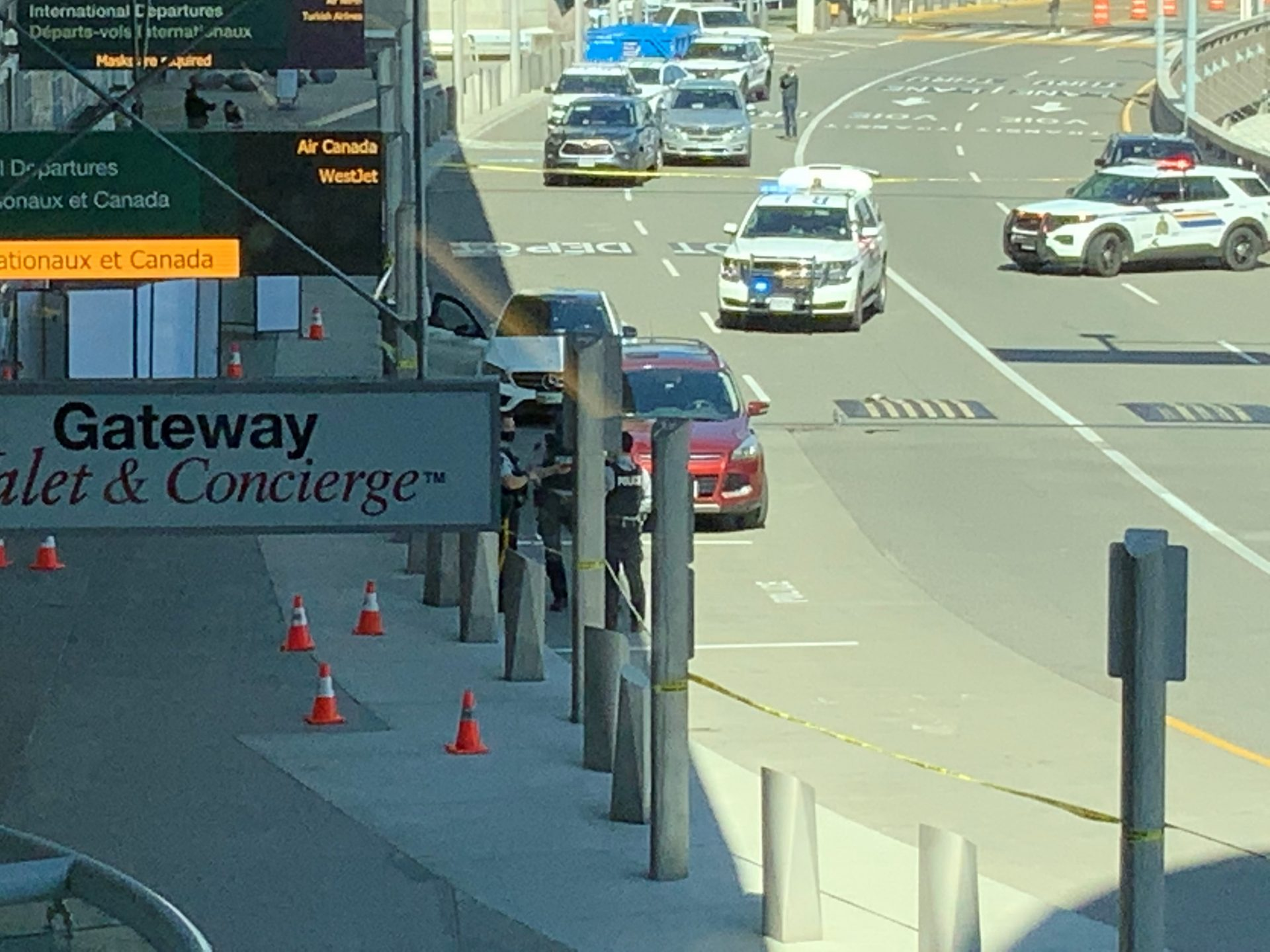 Vancouver airport shooting