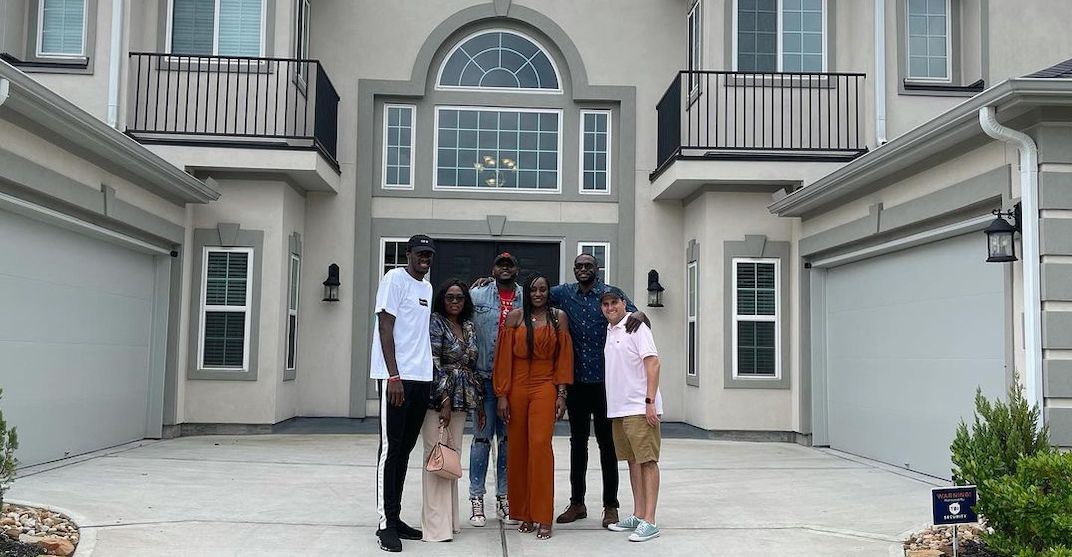 Raptors' Pascal Siakam surprises mom with new home for Mother's Day (VIDEO)