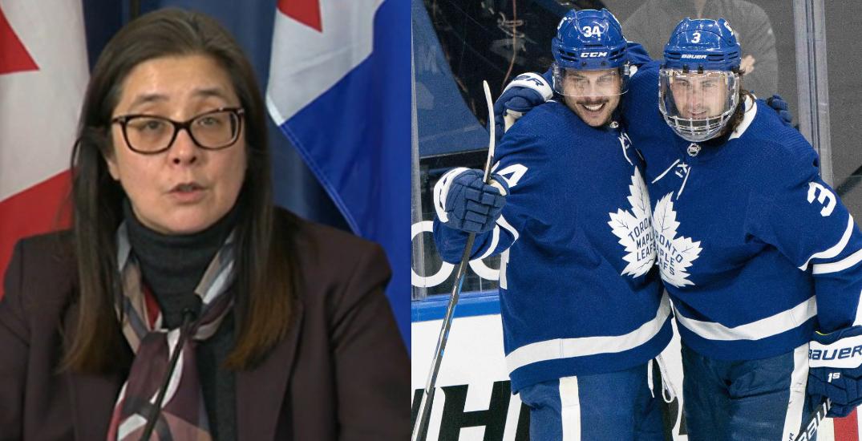 De Villa defends COVID-19 vaccines for Maple Leaf players