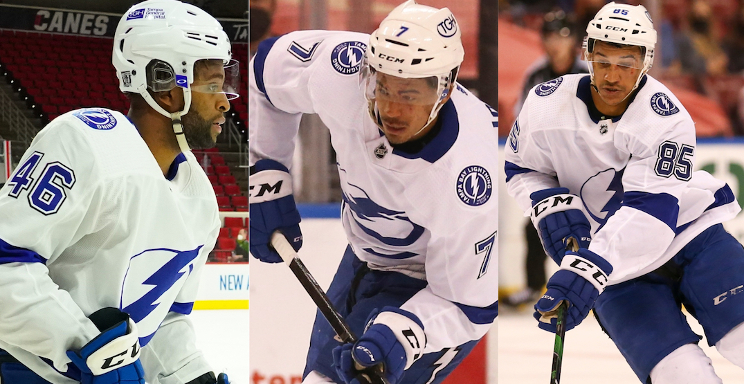 """First all-Black line in NHL history a """"step in the right direction"""""""