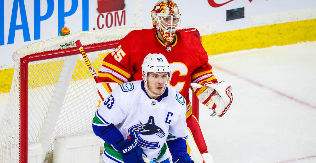 Canucks and Flames to play weekday afternoon games as playoffs overlap