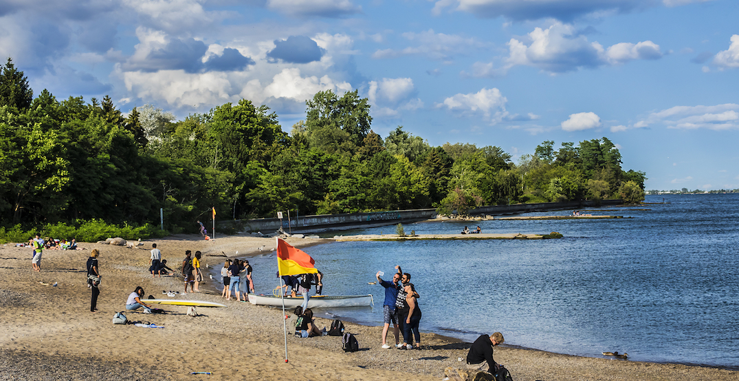 Toronto beaches are officially reopening this week