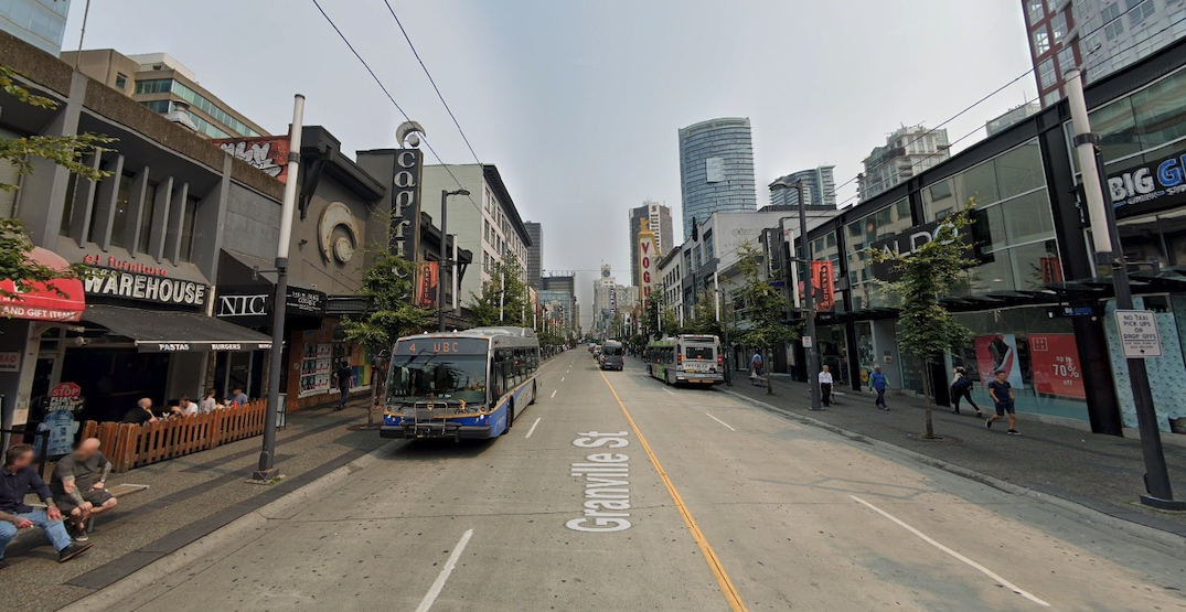 City Council approves closing Granville Street in downtown for pedestrians this summer