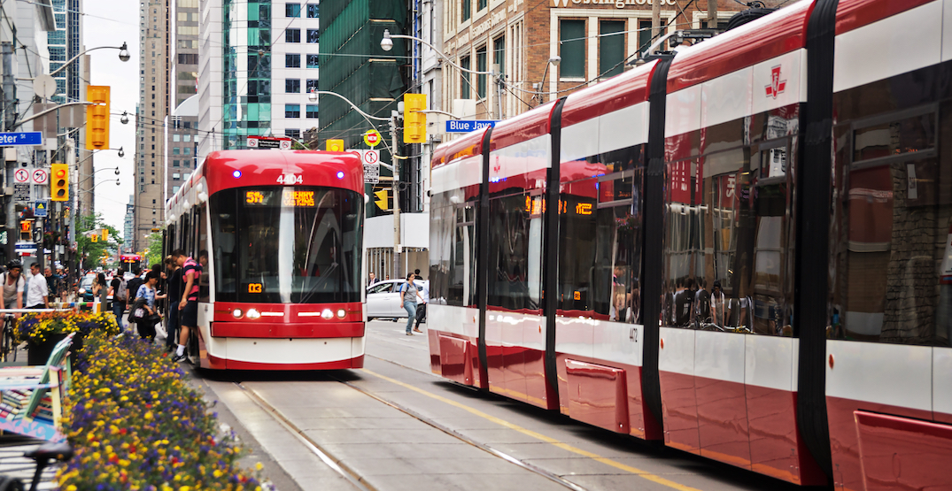 The TTC is getting 60 new streetcars, reallocating 50 buses